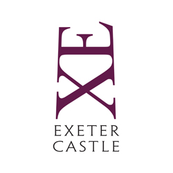 Exeter Castle logo - click for site