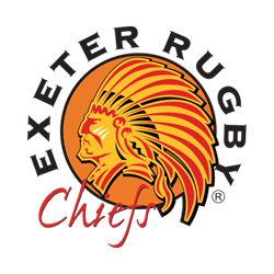 Exeter Chiefs logo. Click for site