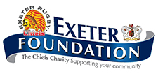 Exeter Foundation logo. Click for site