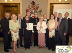 Queens Award Presentation photo