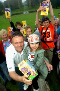 Easter fun at Bicton with our guests