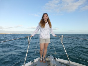 CATHERINE BOULT AT SEA