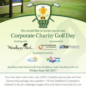 Express and Echo Charity Golf Day poster