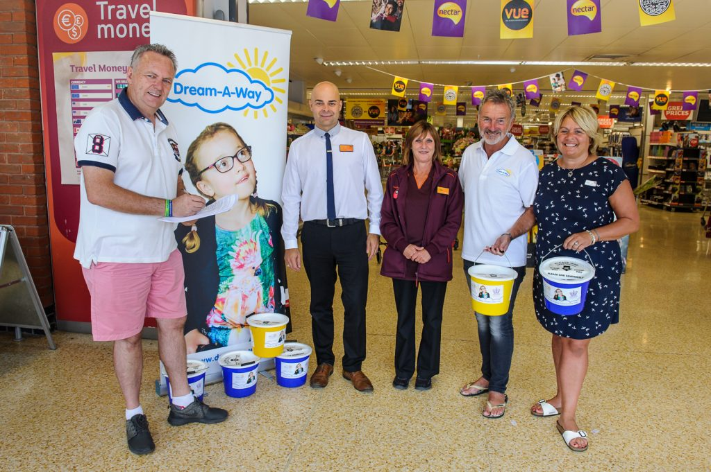 The collection team at Sainsbury's